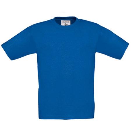 T-Shirt Exact 190 / Kids in Royal Blue von B&C (Artnum: BCTK301
