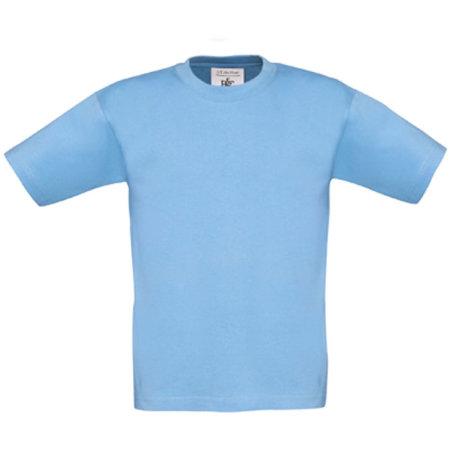 T-Shirt Exact 190 / Kids in Sky Blue von B&C (Artnum: BCTK301