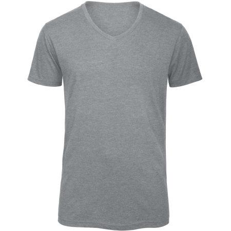 V-Neck Triblend T-Shirt /Men von B&C (Artnum: BCTM057