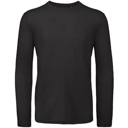 Inspire Long Sleeve T / Men in Black von B&C (Artnum: BCTM070