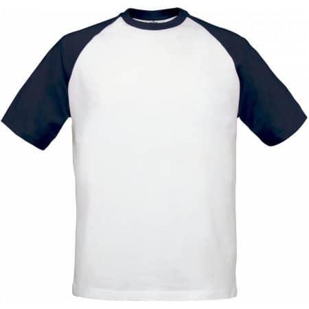 T-Shirt Base-Ball von B&C (Artnum: BCTU020