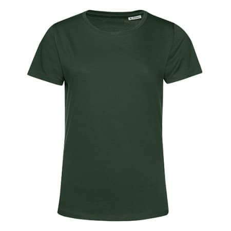 #Organic E150 T-Shirt /Women in Forest Green von B&C (Artnum: BCTW02B