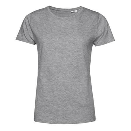 #Organic E150 T-Shirt /Women in Heather Grey von B&C (Artnum: BCTW02B