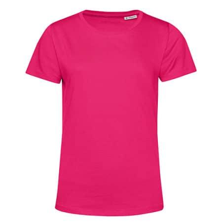 #Organic E150 T-Shirt /Women in Magenta Pink von B&C (Artnum: BCTW02B