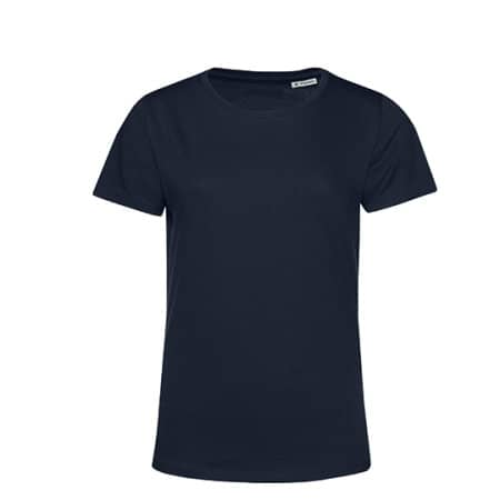 #Organic E150 T-Shirt /Women in Navy Blue von B&C (Artnum: BCTW02B
