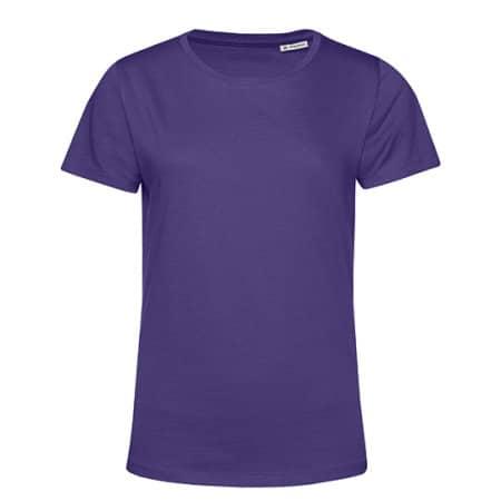 #Organic E150 T-Shirt /Women in Radiant Purple von B&C (Artnum: BCTW02B