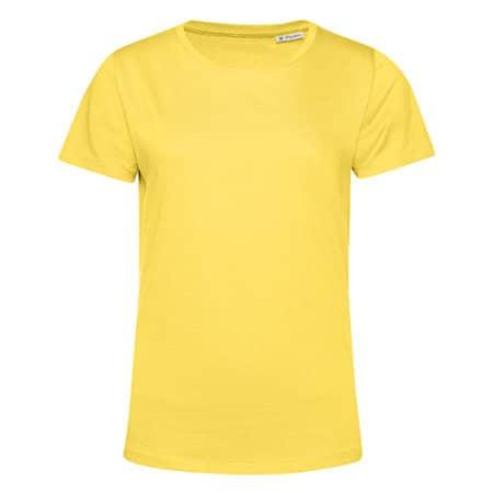 #Organic E150 T-Shirt /Women in Yellow Fizz von B&C (Artnum: BCTW02B