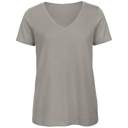 Inspire V T /Women in Light Grey von B&C (Artnum: BCTW045