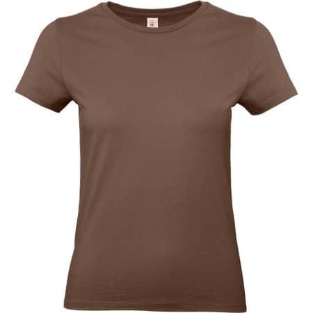 T-Shirt #E190 / Women in Chocolate von B&C (Artnum: BCTW04T