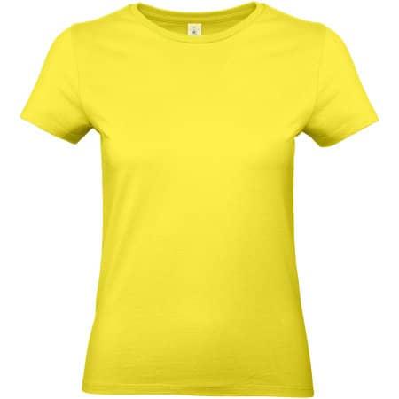 T-Shirt #E190 / Women in Solar Yellow von B&C (Artnum: BCTW04T