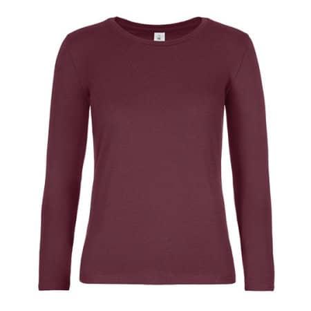 T-Shirt #E190 Long Sleeve / Women (Exact) von B&C (Artnum: BCTW08T
