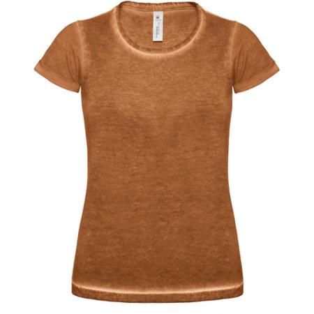 T-Shirt DNM Plug In / Women in Rusty Clash von B&C (Artnum: BCTWD71