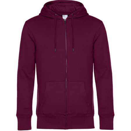 KING Zipped Hood Jacket von B&C (Artnum: BCWU03K