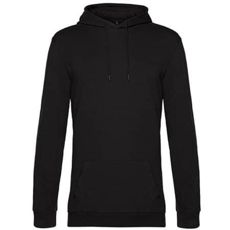 #Hoodie in Black Pure von B&C (Artnum: BCWU03W