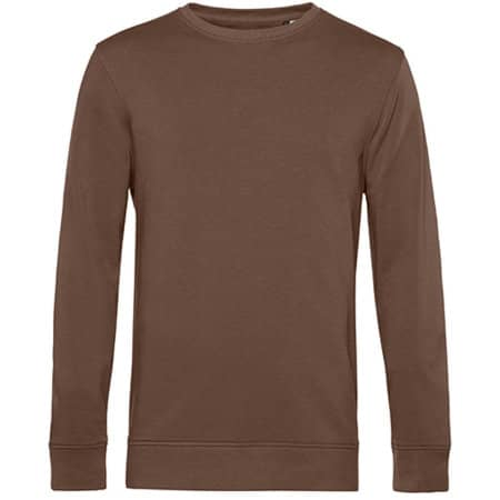 Organic Crew Neck Sweat in Mocha von B&C (Artnum: BCWU31B