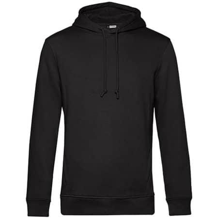 Organic Hooded Sweat in Black Pure von B&C (Artnum: BCWU33B