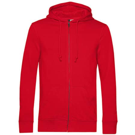 Organic Zipped Hood Jacket von B&C (Artnum: BCWU35B