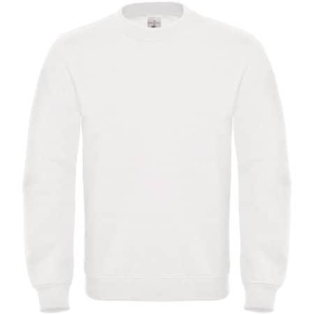 Sweat ID002 in White von B&C (Artnum: BCWUI20