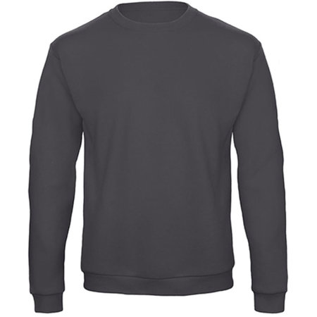 ID202 50/50 Sweatshirt in Anthracite von B&C (Artnum: BCWUI23