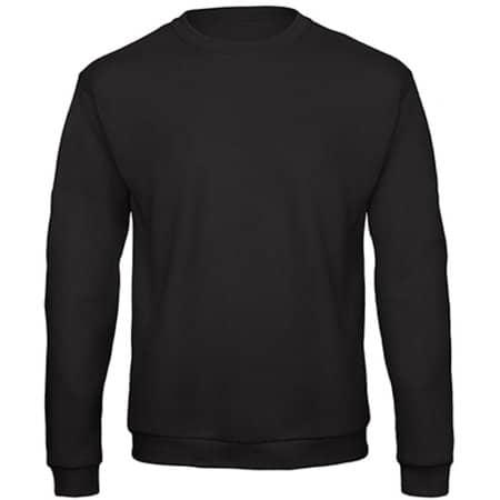 ID202 50/50 Sweatshirt in Black von B&C (Artnum: BCWUI23