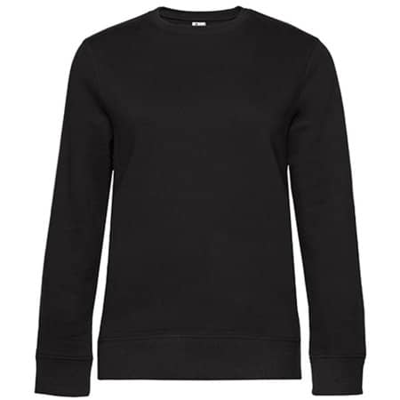 QUEEN Crew Neck Sweat /Women in Black Pure von B&C (Artnum: BCWW01Q