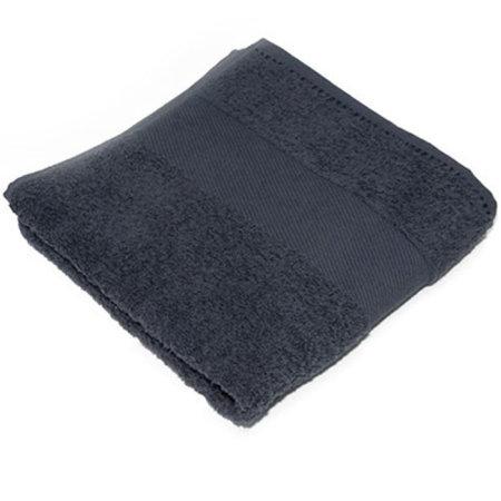 Classic Guest Towel in Anthracite Grey (Grey) von Bear Dream (Artnum: BD210