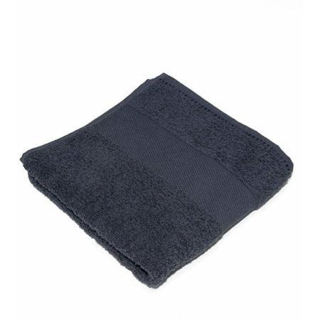 Classic Hand Towel in Anthracite Grey (Grey) von Bear Dream (Artnum: BD220