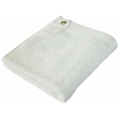 Premium Sport Hand Towel in White von Bear Dream (Artnum: BD320