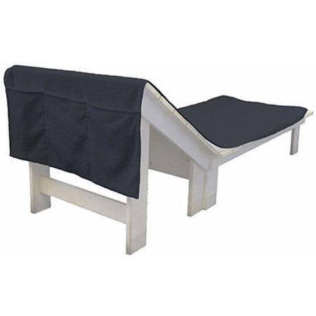 Sun Chair Towel in Anthracite Grey (Grey) von Bear Dream (Artnum: BD701N