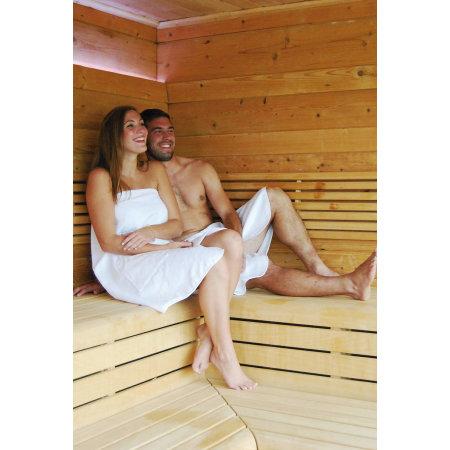 Quick-Dry Sauna Kilt / Lady in White von Bear Dream (Artnum: BD963