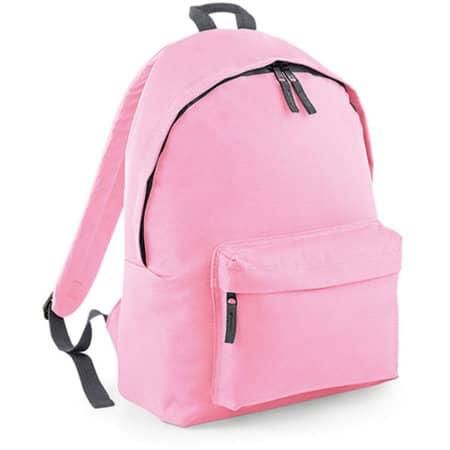 Original Fashion Backpack in Classic Pink|Graphite Grey von BagBase (Artnum: BG125