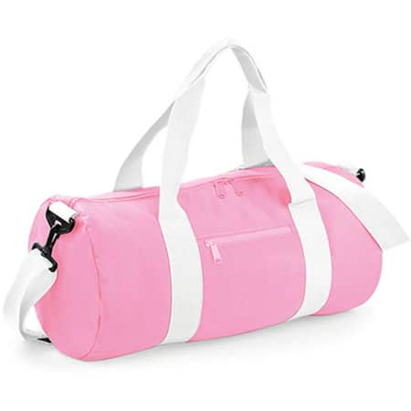 Original Barrel Bag in Classic Pink|White von BagBase (Artnum: BG140
