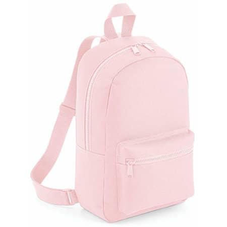 Mini Essential Fashion Backpack in Powder Pink von BagBase (Artnum: BG153