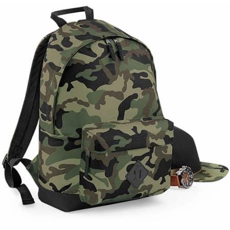 Camo Backpack von BagBase (Artnum: BG175