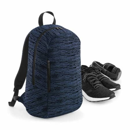 Duo Knit Backpack von BagBase (Artnum: BG198