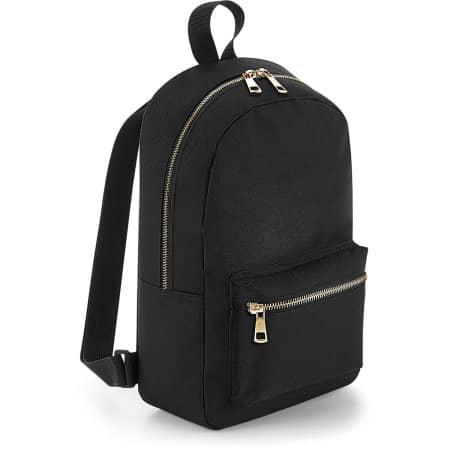 Metallic Zip Mini Backpack von BagBase (Artnum: BG233