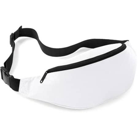 Belt Bag in White von BagBase (Artnum: BG42