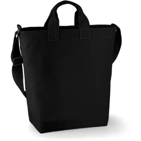 Canvas Day Bag in Black von BagBase (Artnum: BG673
