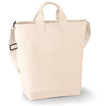 Canvas Day Bag in Natural von BagBase (Artnum: BG673