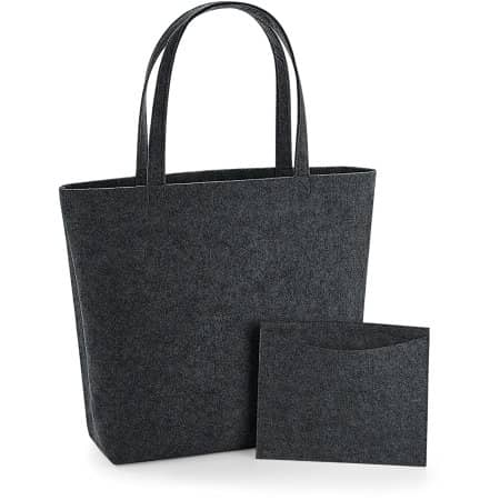 Felt Shopper von BagBase (Artnum: BG721