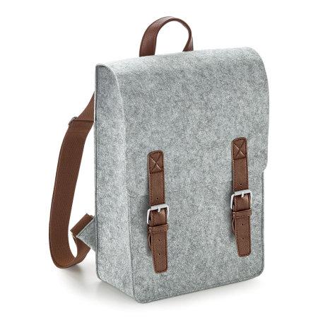 Premium Felt Backpack von BagBase (Artnum: BG735