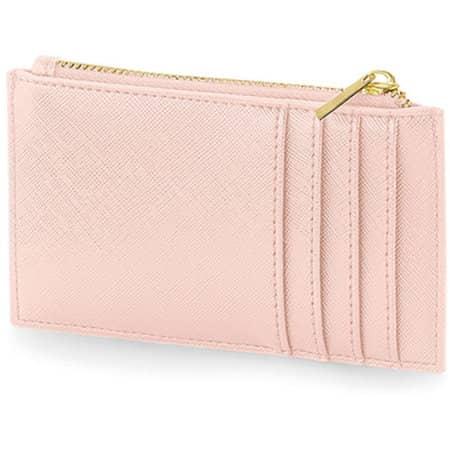 Boutique Card Holder in Soft Pink von BagBase (Artnum: BG754
