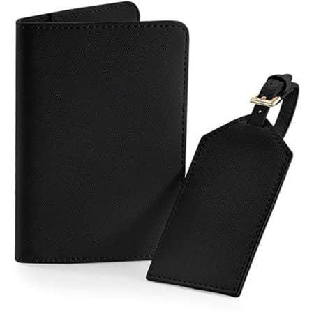 Boutique Travel Set in Black von BagBase (Artnum: BG755