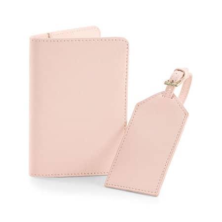 Boutique Travel Set in Soft Pink von BagBase (Artnum: BG755