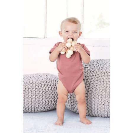 Baby Triblend Short Sleeve Onesie von Bella (Artnum: BL134B