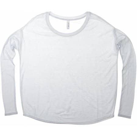 Flowy Long Sleeve T-Shirt von Bella (Artnum: BL8852