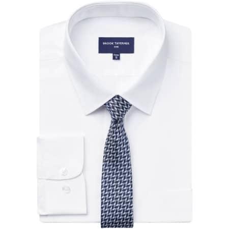 Juno Long Sleeve Shirt in White von Brook Taverner (Artnum: BR690