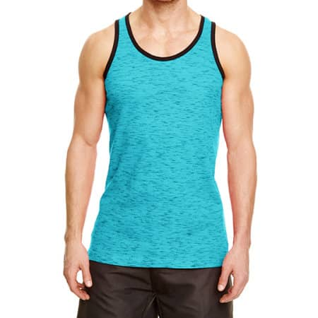 Injected Slub Tank Top von Burnside (Artnum: BU9102