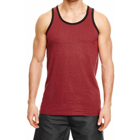 Heathered Tank Top von Burnside (Artnum: BU9111