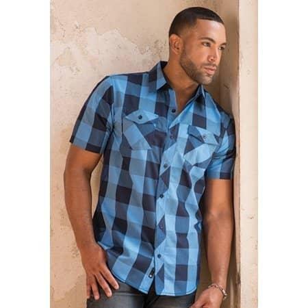 Buffalo Plaid Woven Shirt von Burnside (Artnum: BU9203
